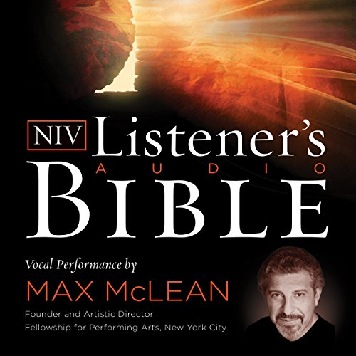Listener's Audio Bible - New International Version, NIV: New Testament cover art
