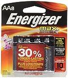 Energizer Max Alkaline Batteries, 8-Pack #E91BP-8/E91BP8-F2