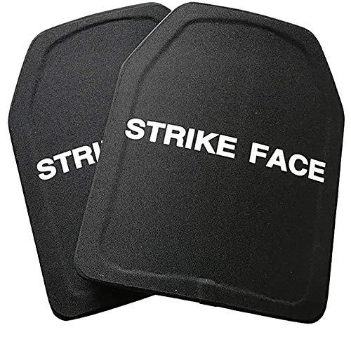 FFTUB Bulletproof Board Three-Level Composite PE Bulletproof Version NIJ3 Suitable for Tactical Vests or Tactical Backpacks,2Pcs