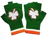 St. Patricks Day Fingerless Shamrock Gloves (Pair)