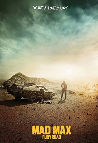 Poster Mad Max Fury Road Movie 70 X 45 cm