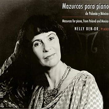Mazurcas para Piano de Polonia y México