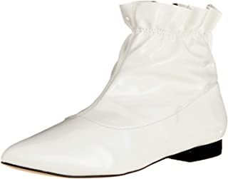Bianco Low Pointy Boot, Botines para Mujer