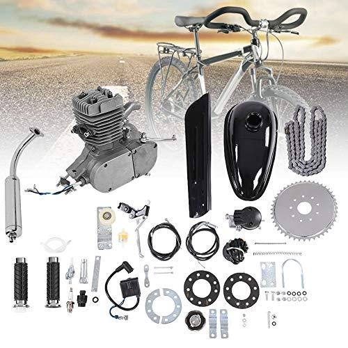 Weikeya Kit de Bicicleta de Motor de Motor de 50cc, con Acero y Pate de fricción Seca Pate Kit de Motor de Bicicleta