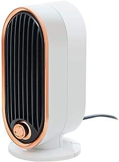 Haoyue Espacio Calefactores Termoventiladores Calentadors Ventilador Calentamiento Rápido Apto para Uso Oficina En Casa(700W)