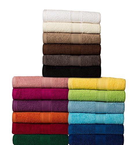 Asciugamani - Tutte le dimensioni e i colori - 100% Cotone - Qualità 500 g/m²