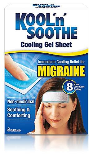 Kool n Soothe Migraine kylband – 4 remsor