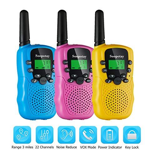 radios woki toki para niñas fabricante Soopotay