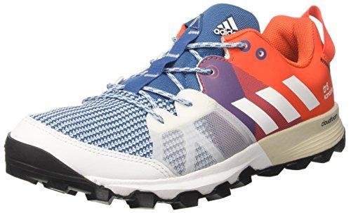 adidas Kanadia 8 Tr M, Zapatillas de Running Hombre, Multicolor (Azubas/Ftwbla/Energi), 44 EU