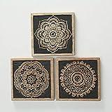 Home Collection Hogar Decoración Accesorios Ornamento Obras Arte Juego de 3...