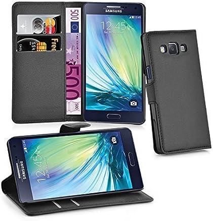 Cadorabo Coque pour Samsung Galaxy A5 2015 Noir Phantom 5