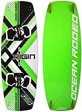 Ocean Rodeo Origin 3.0 Kiteboard, 142cm x 42cm (Gen 3.0, Green/Black)