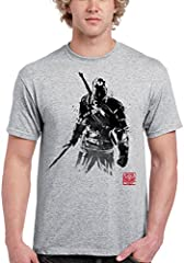 1109-Camiseta The Witcher Sumi-e (Dr.Monekers)