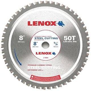 American Saw & Mfg 21884ST800050CT Metal-Cutting Circular Saw Blade, 8-In. x 50TPI - Quantity 5