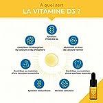 VITAMINES D3 & K2 MK7 Végétales - 100% Pure et Vegan - Avec Huile d'Olive Bio - Renforce l'Immunité, Santé des Dents, Os, Muscles - Flacon Compte-Gouttes - Nutrimea - Fabriqué en France #1