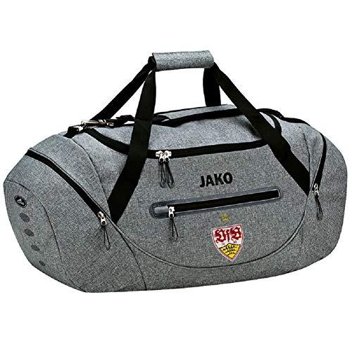 JAKO VfB Stuttgart Champ Sporttasche Tasche (one Size, grau meliert)