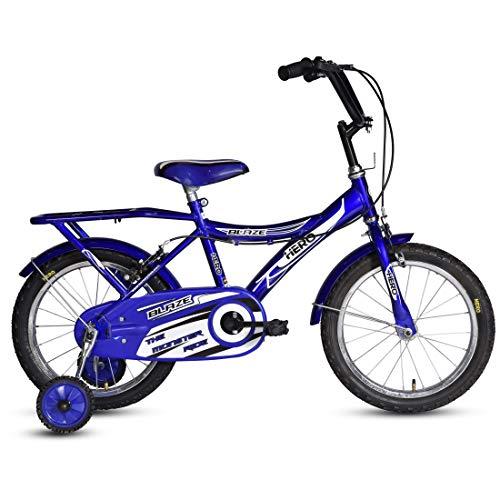 "Hero Kid's Single Speed Blaze 16T Cycle (11"" Steel Frame, Blue, 16 x 1.75)"
