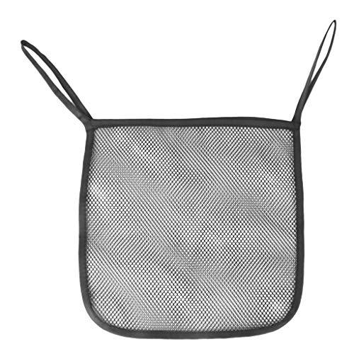 1 pieza de cochecito de bebé bolsa colgante carro bolsillo bolsa de cochecito portátil bolsa organizador de malla para cochecito de bebé botella pañal