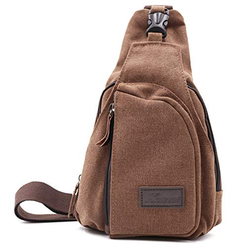Kalevel Outdoor Sports Travel Crossbody Backpack Casual Shoulder Chest Bag