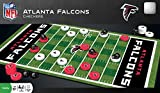 MasterPieces NFL Atlanta Falcons Checkers Board Game Set, For 2 Players, Ages 6+