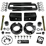 TORCH 3' Front 3' Rear Lift Kit for 2005-2021 Toyota Tacoma 4X4 4WD w Differential Drop TRD SR5 - Models with 6 Lug Wheel Bolt Pattern ONLY