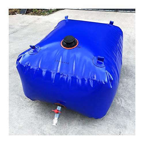 Almacenamiento de agua Patio Recipiente Vejiga De Agua De PVC BPA Buen Sellado Al Aire Libre Cámping Tamaño Personalizado ZLINFE (Size : 540L/1.5x0.9x0.4M)