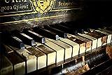 FAWFAW Puzzle Personalizado 1500 Piezas, Música De Teclas De Piano Antiguo, 1500/1000/500/300 Piezas, Collage Puzzle