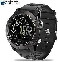 Zeblaze Super Lightweight Vibe 3 HR Smart Watch, Rugged Inside Out HR Monitor 3D UI..