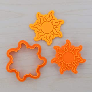 Tangled Sun Cookie Cutter and Stamp Set (2.2 inches)
