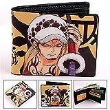 Monederos Pinzas para Billetes Carteras monederos Unisex Hombre Animado refrescan la Carpeta Tokio Ghoul/una Sola Pieza/Naruto/Deadpool Titular de la Tarjeta Monedero (Color : CPW 13)