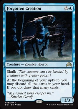 Magic The Gathering - Forgotten Creation (063/297) - Shadows Over Innistrad