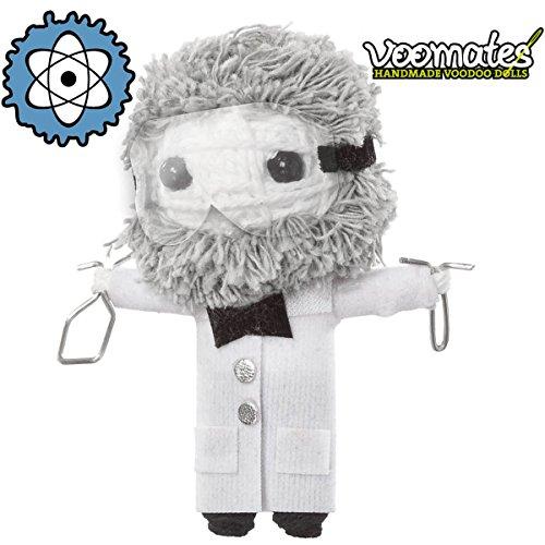 Voomates String Doll Voodoo-Puppen - handgemachte Sorgen-Püppchen Fingerpuppen - Die Handpuppen mit 81 Modelle - Prof Dr. Dr. Atom (Professor)