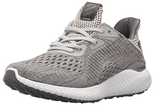 adidas Kids' Alphabounce EM Running Shoe, Grey Five/Grey Two/White, 6 Medium US Big Kid