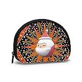 Moon Sun Stars - Bolsas de almacenamiento de cosméticos para pared, diseño de estrellas, para mujer, niña, monedero, monedero, monedero, bolsa de monedas