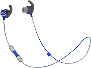 JBL Reflect Mini 2.0, in-Ear Wireless Sport Headphone with 3-Button mic/Remote - Blue