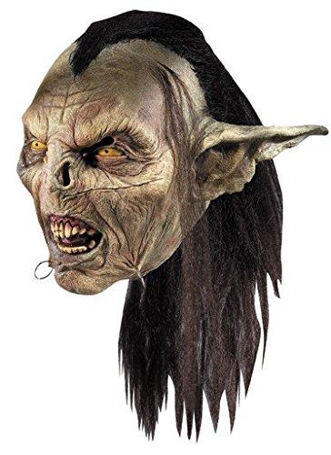 Rubie's Gruselige Ork Maske Herr der Ringe Lizenzartikel bunt Einheitsgröße
