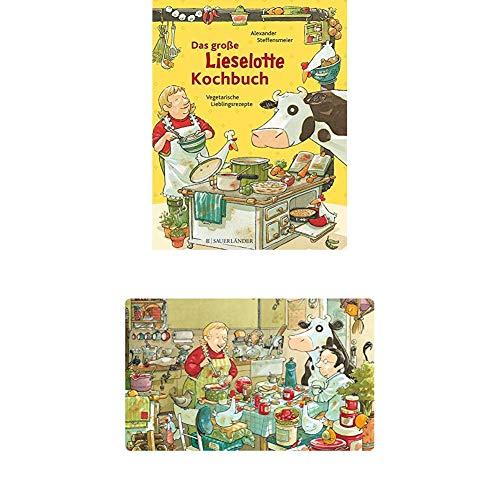 Das große Lieselotte-Kochbuch: Kinderleichte Lieblingsrezepte + Lieselotte Frühstücksbrettchen