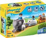 PLAYMOBIL 1.2.3 70405 Mi Tren de Animales, De 1,5 a 4 años