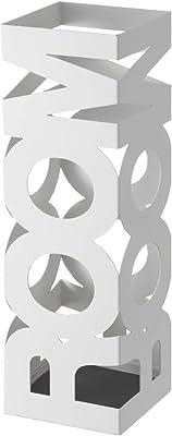 ホワイト/傘立て 傘たて かさたて アンブレラスタンド 乾燥 換気 収納 スリム アイアン アジアン インテリア 格好いい ROOM ルーム おしゃれ ハイデザイン 幅15.3cm