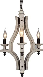 Best large iron pendant french farmhouse Reviews
