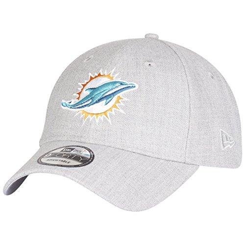 New Era 9Forty Strapback Cap - Miami Dolphins Heather grau