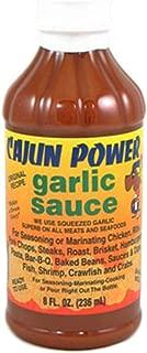 Cajun Power Garlic Sauce, 8oz (Pack of 6)