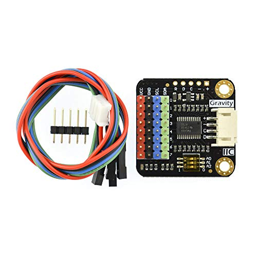 Gravity: 12C Digital 1-zu8 I2C 8 Kanal Multiplexer Breakout Modul für Arduino Raspberry Pi und Micro:bit