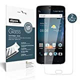 dipos I 2x Screen Protector compatible with ZTE Blade V8