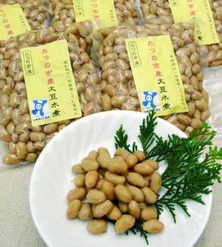 たつの市産大豆水煮 250g(無添加・無化学調味料・国産品)