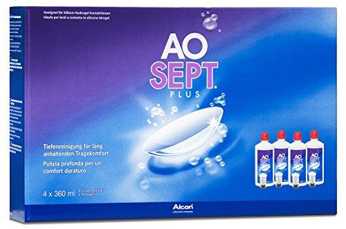 Aosept Plus Kontaktlinsen-Pflegemittel, Systempack, 4 x 360 ml - 2