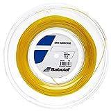 Babolat RPM Hurricane 200m Saitenrolle gelb Größe 1.20 mm