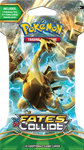 Pokemon TCG: Fates Collide, Blistered Booster Pack Containing 10 Cards Per Pack With Over 120 New Cards To Collect