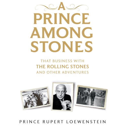 A Prince Among Stones audiobook cover art
