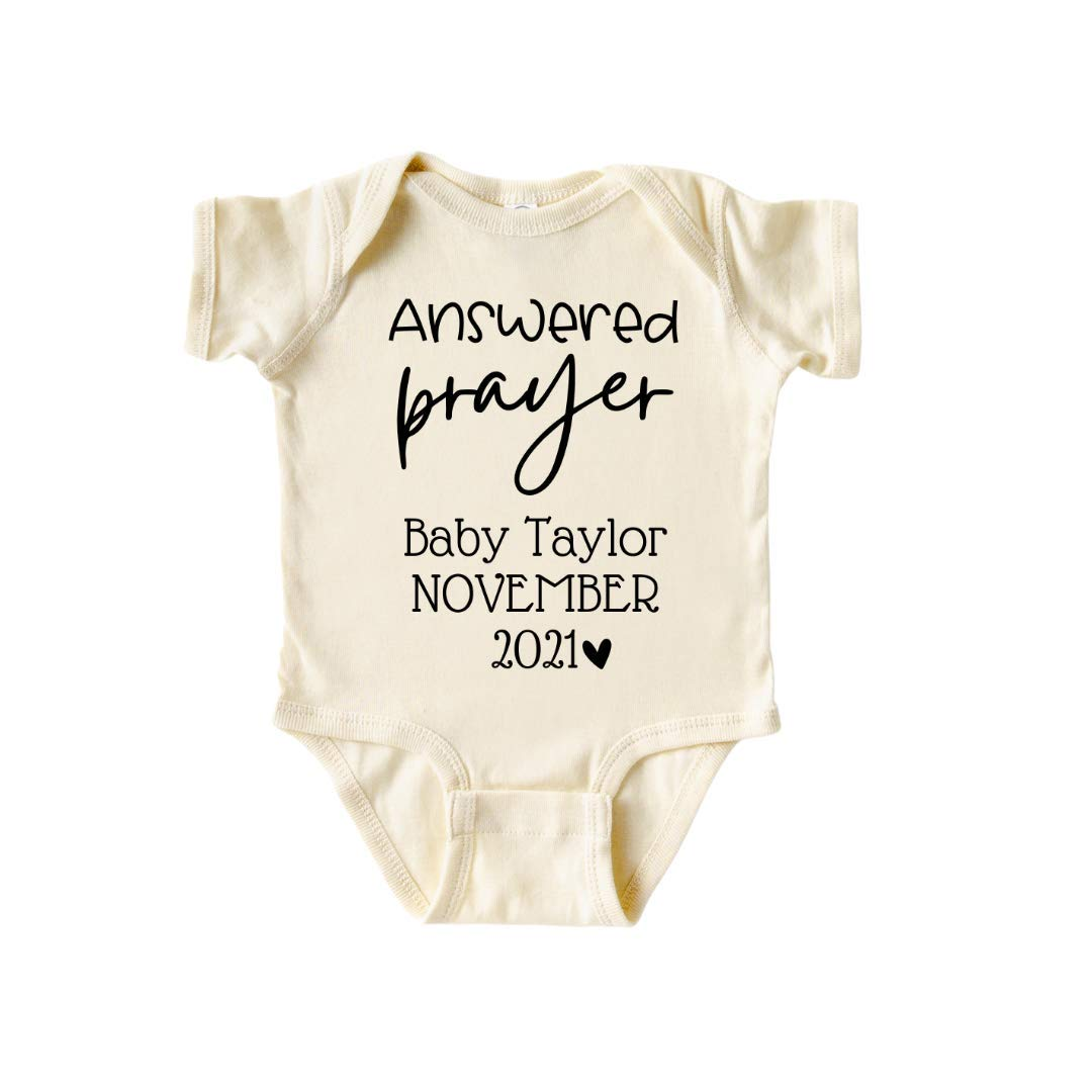 Surprise Pregnancy Popular product sale Announcement Answered Mi Personalized Prayer